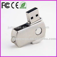 Promot metal swivel USB, pen drive usb, flash memory usb with Customised logo