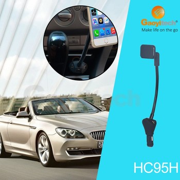 China supplier support three usb port car charger magnetic charger with led light car smartphone accessories