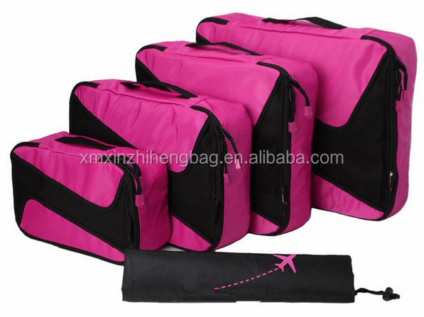 High quality travel bag set lightweight 5 pcs packing cube