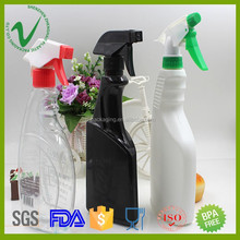 500ml wholesale empty liquid plastic laundry detergent bottle with trigger sprayer