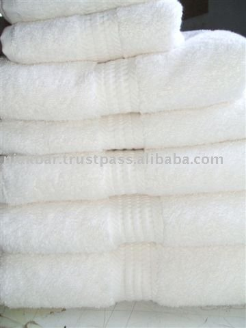 Hotel And Hospital Towels White 100% Cotton