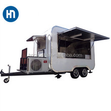 Most Favorable Tricycle food chips & ice cream & coffee & popcorn fast food trailer for sale