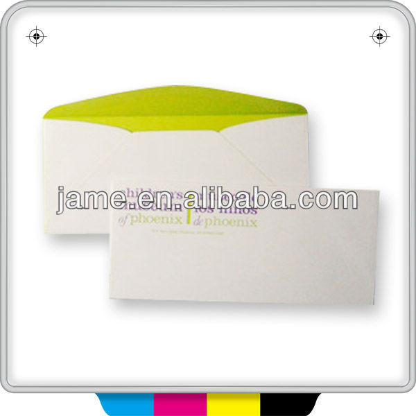 customised art paper envelopes printing service