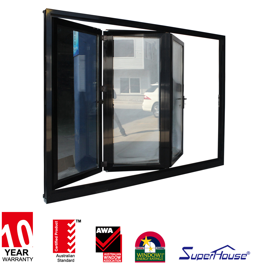 China product soundproof aluminum glass portable folding doors room dividers
