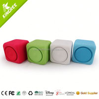 2014 newest design alarm clock speaker felt