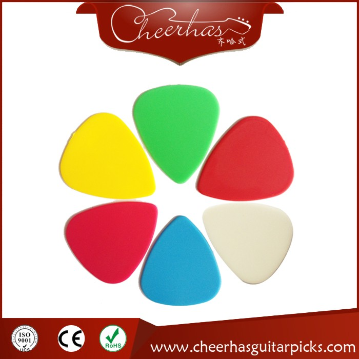 Custom Innovative Design Cool Multicolor POM Guitar Picks
