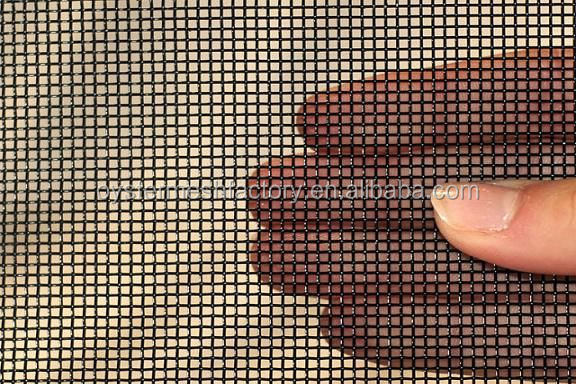Powder coated stainless steel security window screen/Stainless steel security mesh