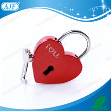 AJF fashion heart shape wedding locks
