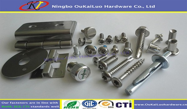 Stainless Steel 304 Square Pan Head Self Tapping Screw