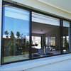 Easy cleaning aluminum sliding window with cheap price and wide use