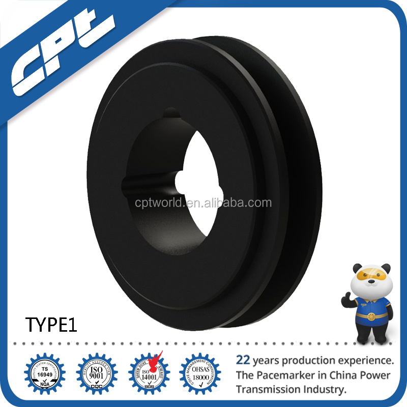 OEM Steel Material and V-belt Type with good V Groove SPA belt Section 1 Groove Cast Iron V Belt Pulley price for sell