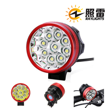 9 x CREE XML XM-L T6 The most popular rechargeable bike lights rechargable bicycle front light