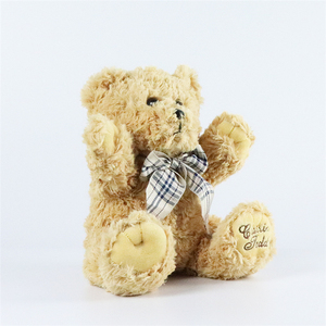 China Factory Cheap Stuffed Teddy Bear Toy For Crafts 2019 OEM Custom Valentine Gift Cartoon Cute Plush Toy