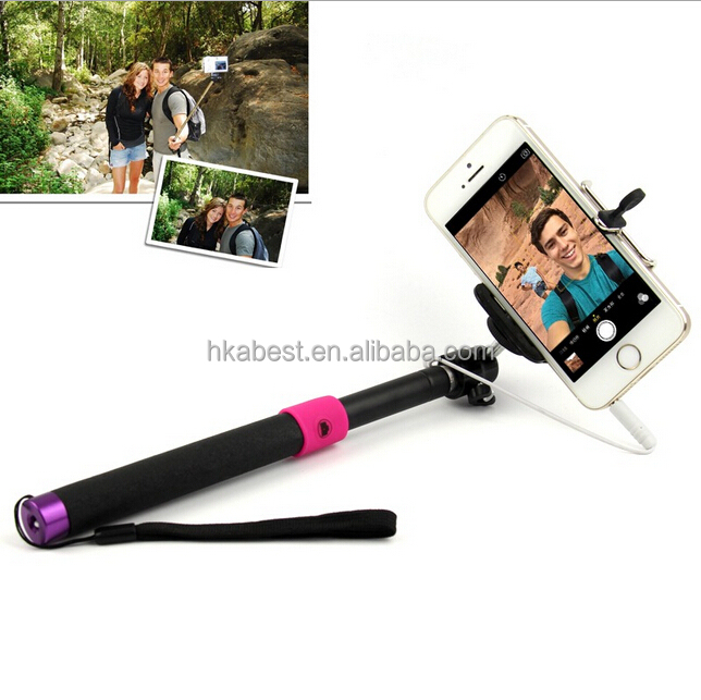 S00802 monopod selfie stick+bluetooth selfie stick wireless bluetooth with remote control for mobile phone