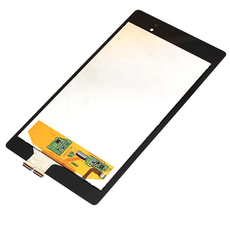 Black Touch Screen Digitizer Assembly Replacement Part for LG Google nexus 7 2nd LCD