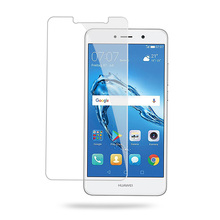 SmartPhone Anti Scratch High Transparency Screen Protector For Huawei Y7 Clear Tempered Glass