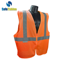 Professional high visibility running vest reflective strips vest high visibility vest