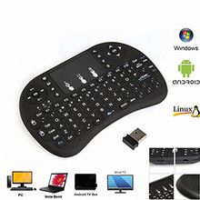 wonderful Mini i8 Rechargable Lithium ion Battery 2.4GHz Wireless Remote Control mouse wireless
