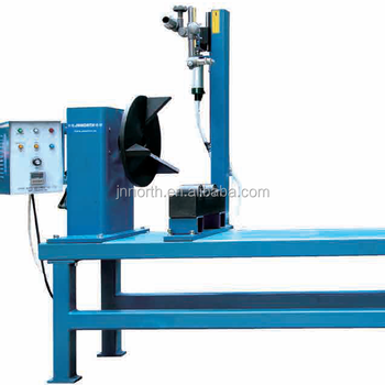 CE Certificate semi automatic welding machine in Tube / tank / steel pipe welding machine