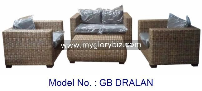 Rattan Kubu Grey Sofa Set Armchair Indoor And Outdoor Furniture, rattan kubu grey furniture, garden outdoor sofa set