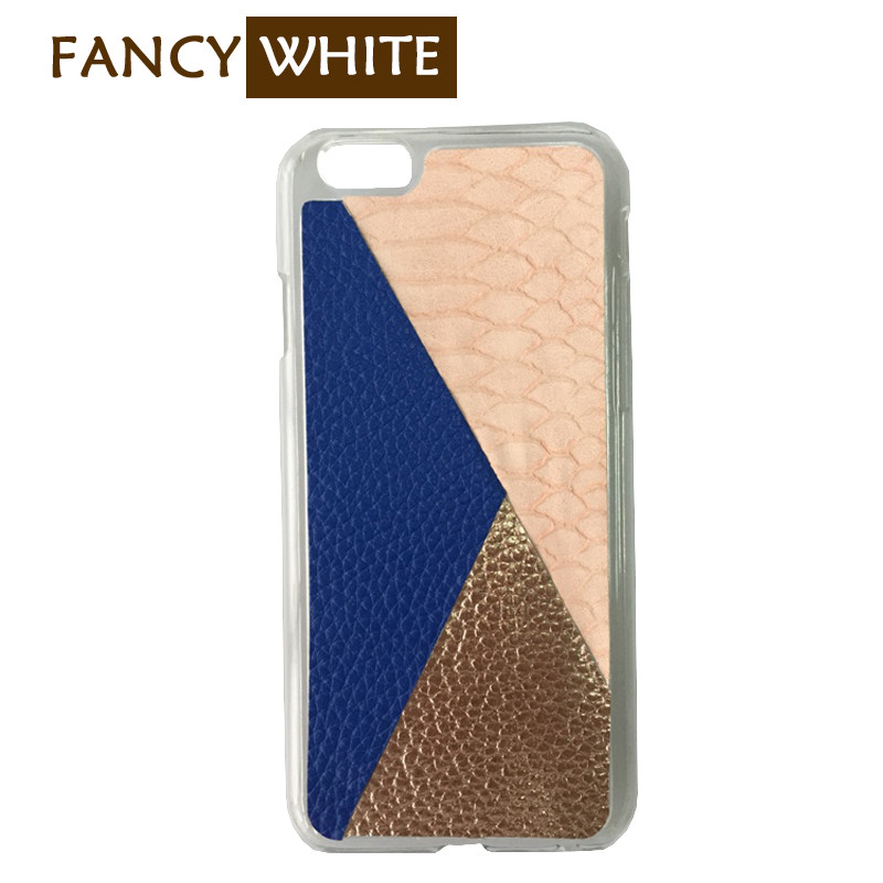 Shopping own design patchwork plastic cell phone covers and cases