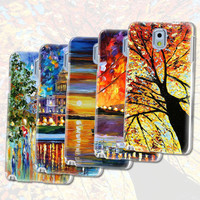 UV Printing Mobile Phone Cover For Samsung Galaxy note 3 protect hard case oil paint style