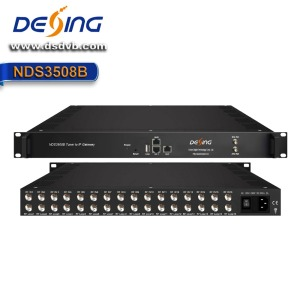 Dexin NDS3508B Tuner to IP Gateway