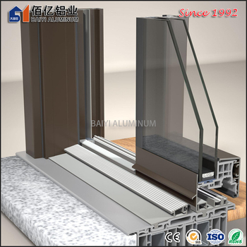 Most Popular Alloy 6063 T5 Aluminum Arch/Sliding/Casement Window Profile