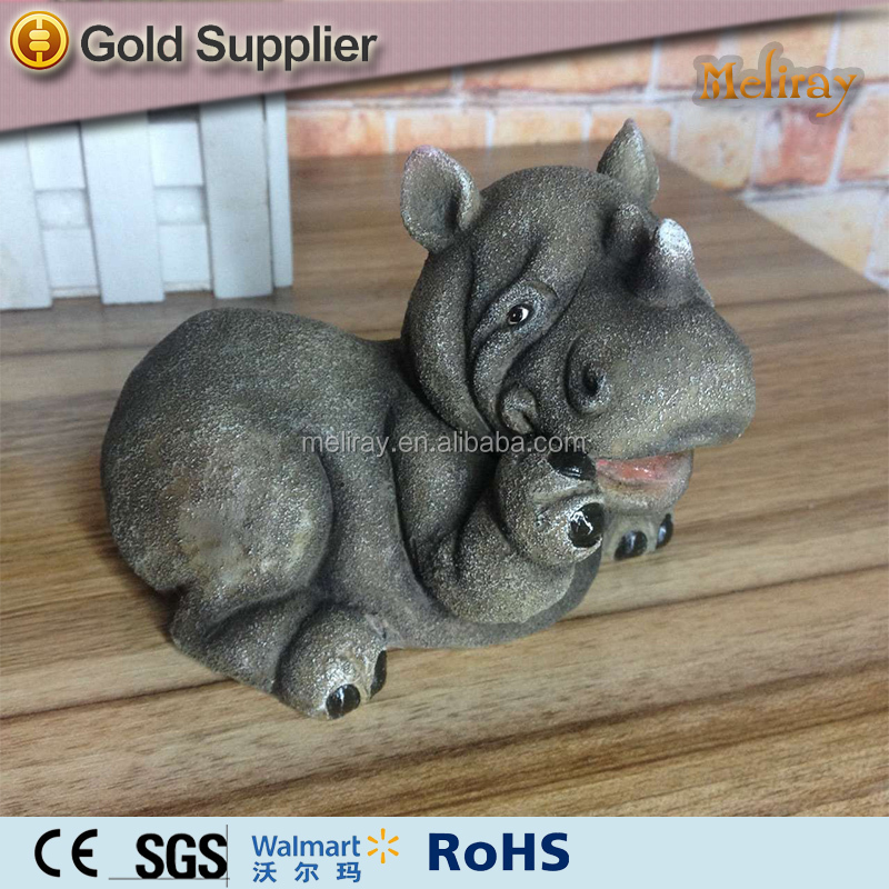 resin Hippo Gifts crafts figurine
