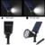 [Upgrated 200 Lumen]2-in-1 New Solar power spot garden lights / Solar Power Outdoor Wall Light - Waterproof spotlight