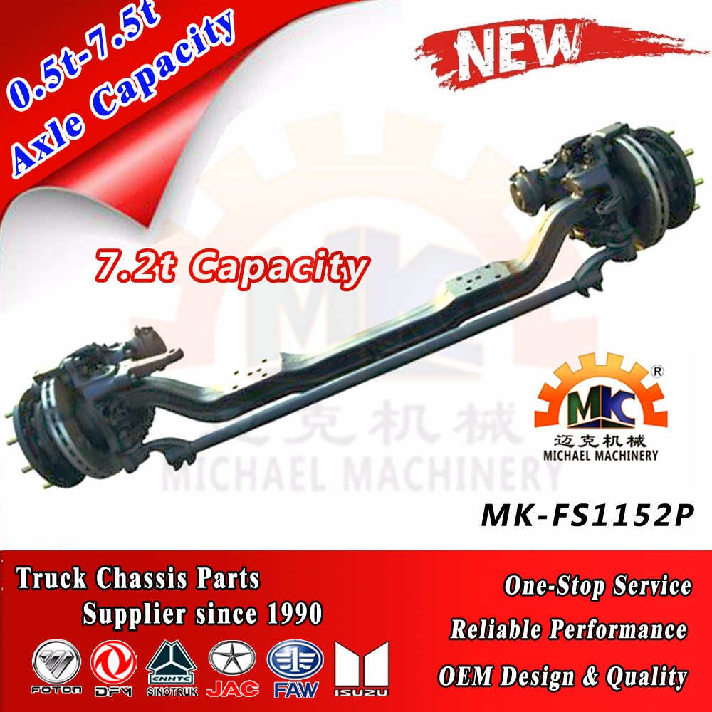 4x2 Heavy Truck Front Steering Axle OF Dongfeng Dana