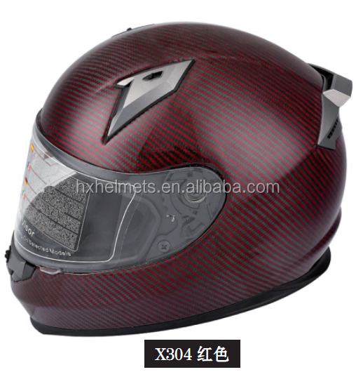 Carbon Fiber Helmet Full Face motorcycle Helmet for ECE