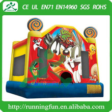 Rabbit Looney inflatable jump, inflatable bounce house