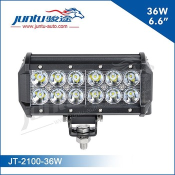Hot selling 12 volt 36w led light bar 4x4 36w led flood light bar JT-2100-36W