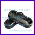 black silicone lid_rubber lid_silicone sleeve