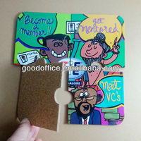 Innovative home promotional gifts puzzle cork coaster