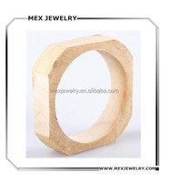 18mm Square unfinished wood bangles factory price