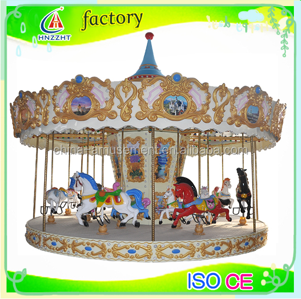 alibaba fr theme park rotating kids 16 seats carousel decoration for sale