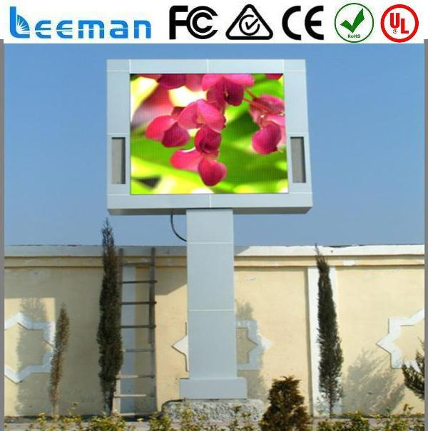 3g taxi roof led display 2015 LEEMAN LED display billboards panel curtain screen