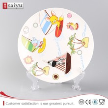 OEM direct sale ceramic wedding dinner plates