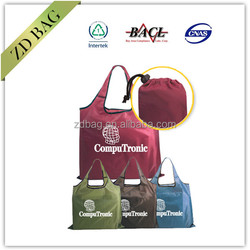Affordable RPET Fold-Away Carry All Polyester Bag