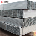 hot dip galvanized steel square pipe weight
