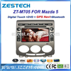 ZESTECH Factory Supplier 7 inch 2 din Car stereo for Mazda 5 auto parts with GPS Navigation system