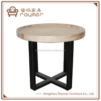 Old ship wood rustic vintage wooden industrial tea table