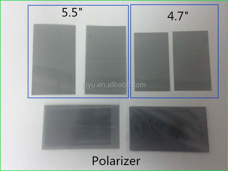 Semi-transparent lcd panel polarizer film replacement for iphone 4 5 6 6s polarizer