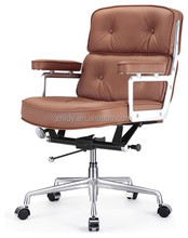 Wholesale leather adjustable luxury office lobby chair