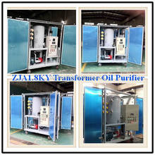 ZJA Series Small Size Offline Transformer Oil Recycling Machine