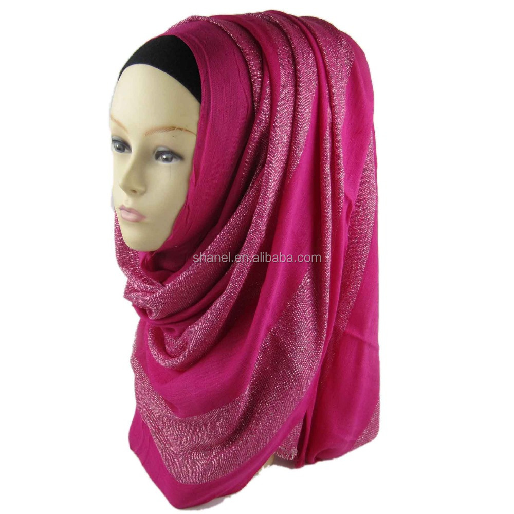 high quality muslim hijab long scarg fashion girl hijab