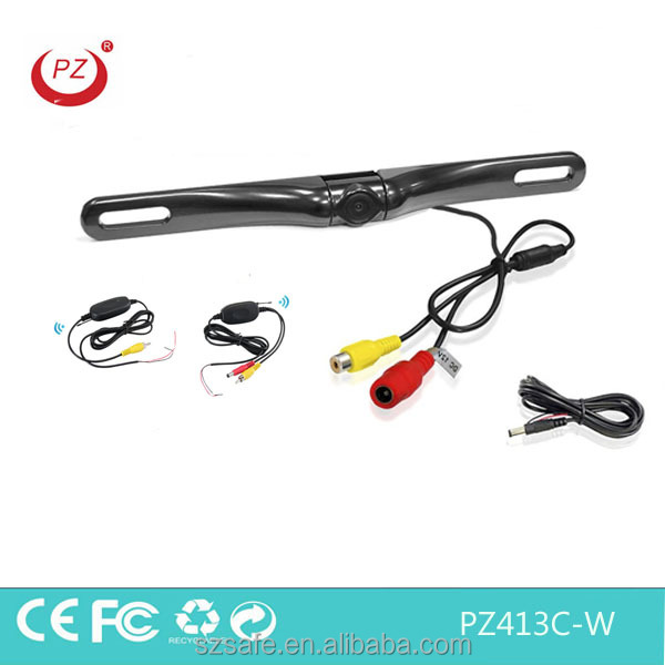 2.4g wireless car camera system 12v for car reverse rearview