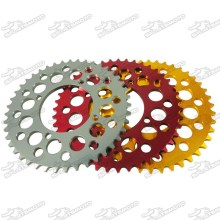 420 or 428 Chain CNC Aluminum Rear Sprocket For SDG Wheel Pit Dirt Bike